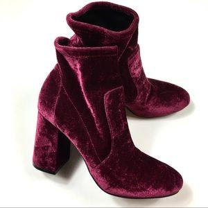 Shoes - FINAL PRICE  THREE LEFT BRAND NEW velvet  boots